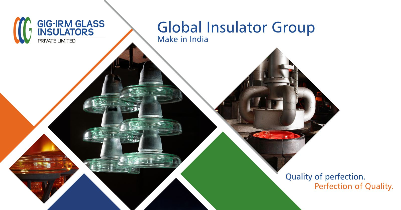 GIG-IRM manufactures the first Toughened Glass insulators in India
